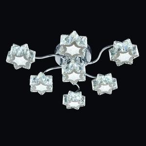 Потолочная люстра Максисвет 1693 1-1693-7-CR-Y-LED
