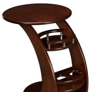 Кофейный столик на колесиках Висан Придиванный столик Люкс