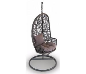 Плетеное подвесное кресло из ротанга 4sis