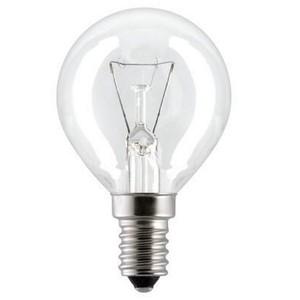 Лампа накаливания 60 вт Е14 CL Navigator шар