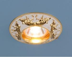 7217 MR16 WHG белый/золото Электростандарт Точечный светильник