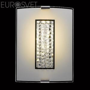 Настенно потолочный светильник Eurosvet 90014 90014/1 хром