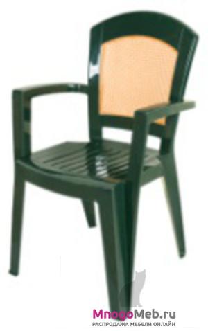 Кресло HK-200 Afrodita зеленое