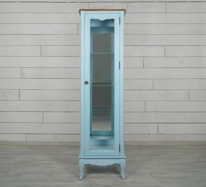 Шкаф Leontina для посуды голубой
