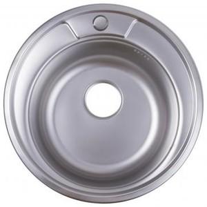 Мойка врезная Maidsink Kiba 49 см цвет хром, нержавеющая сталь