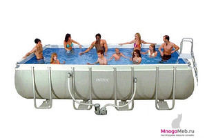 "Бассейн каркасный ""Ultra Frame Rectangular Pool"" 28362"
